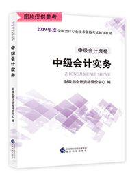 中級會計實務-2019年中級會計職稱考試《中級會計實務》官方教材(預售)