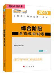 """综合阶段-2019注会综合阶段""""梦想成真""""系列全真模拟试卷"""