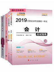 """2019注会会计""""梦想成真""""系列应试指南+经典题解+官方教材"""