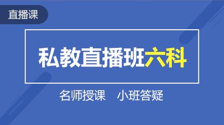 2019注會--聯報課程-私教直播班六科(一年)