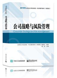 公司战略与风险管理-2019注会公司战略与风险管理辅导教材(精要版)