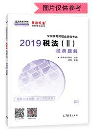 """税法(二)-2019年税务师《税法二》""""梦想成真""""系列经典题解(预售)"""