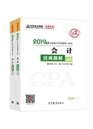 """2019年注册会计师《会计》""""梦想成真""""系列经典题解(上下册)"""