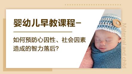 婴幼儿早教系列课程-如何预防心因性、社会因素造成的智力落后?