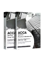 ACCA Corporate and Business Law(English)(LW)正版教材+练习册(F4)