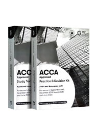 ACCA Audit and Assurance (AA)正版教材+练习册(F8)