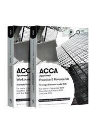 SBL战略商业领袖-ACCA Strategic Business Leader (SBL)正版教材+练习册