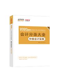 2020年中级会计职称《中级会计实务》分录大全电子书(预售)