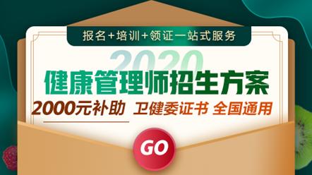 健康管理师2020-2020年健康管理师-高效定制班
