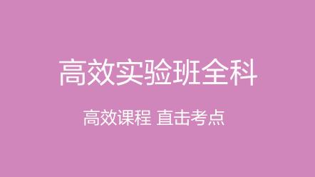 城乡规划师全科2020-城乡规划师全科[高效实验班]2020