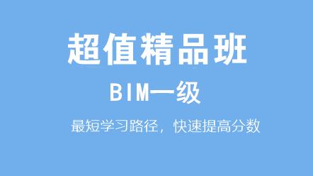 BIM一級(十六期)-BIM一級(十六期)超值精品班