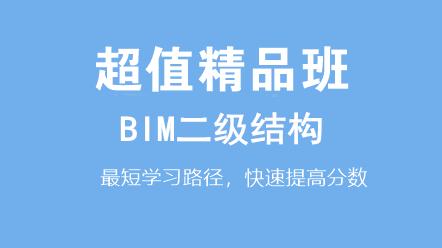BIM二級結構(十六期)-BIM二級結構(十六期)超值精品班