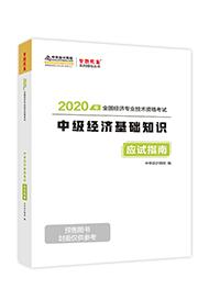 """2020年经济师《中级经济基础知识》""""梦想成真""""系列应试指南(预售)"""