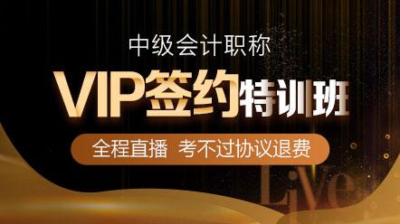 中级联报课程2020-VIP签约特训班