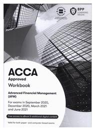 ACCA Advanced Financial Management (AFM)正版教材+练习册(P4)(适用于2021.9-2022.6)