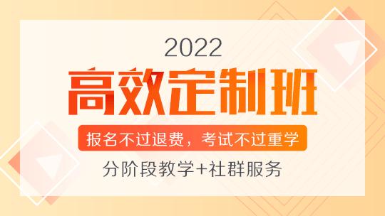 2022主管护师高效定制班
