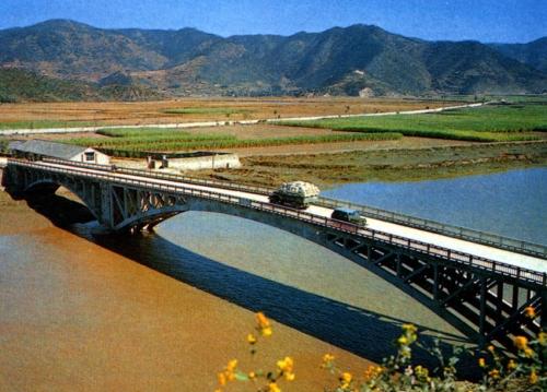 下承式拱桥-一级建造师关于拱桥的类型
